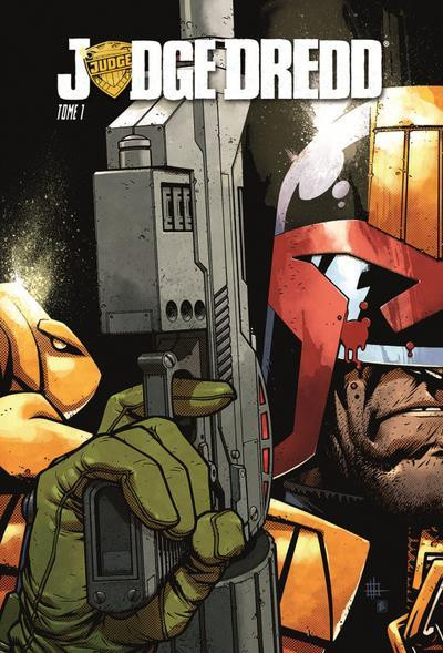 Couverture Judge Dredd tome 1