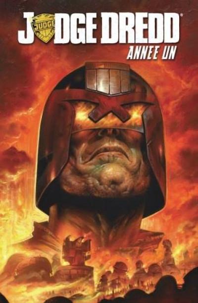 Couverture Judge Dredd - année un