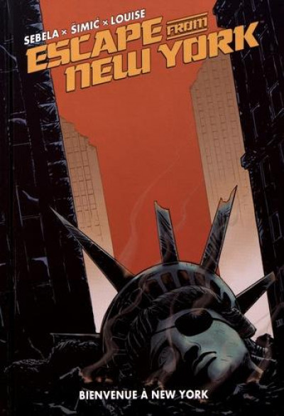 Couverture Escape from New York tome 3