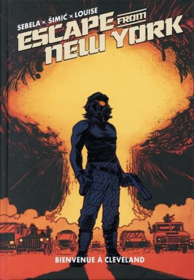 Couverture Escape from New-York tome 4