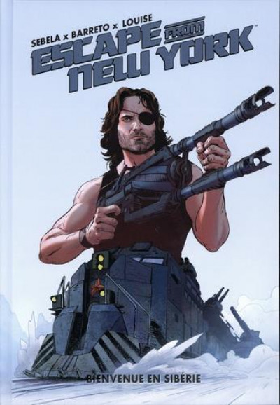 Couverture Escape from New-York tome 2