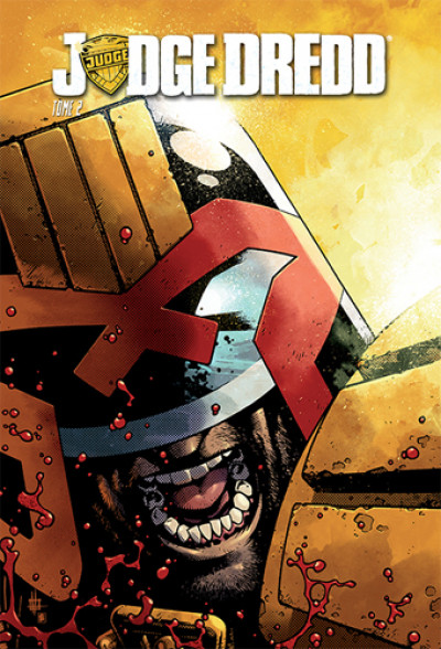 Couverture Judge Dredd tome 2
