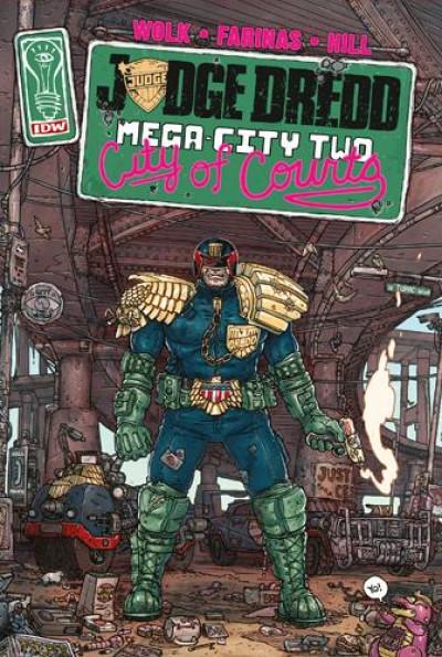 Couverture Judge Dredd - Mega city two