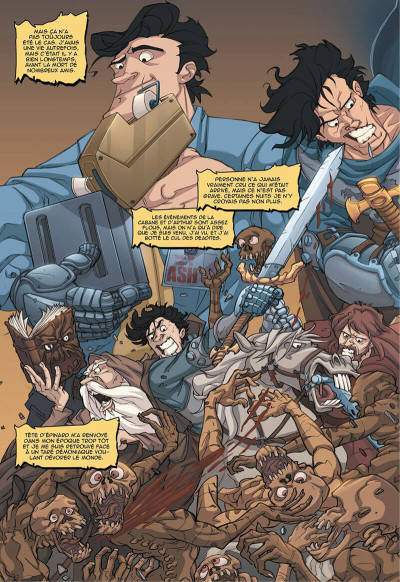 Page 5 Army of darkness vs reanimator
