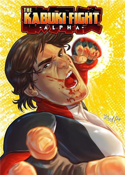 Couverture Kabuki fight - Alpha