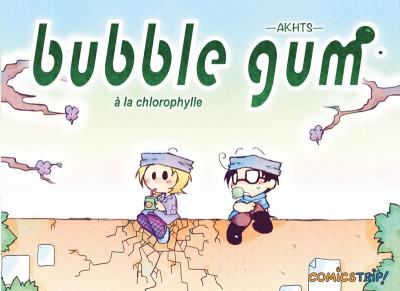 Couverture Bubble Gum à la Chlorophylle