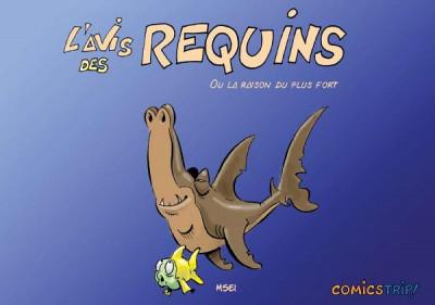 Couverture L'avis des requins tome 1