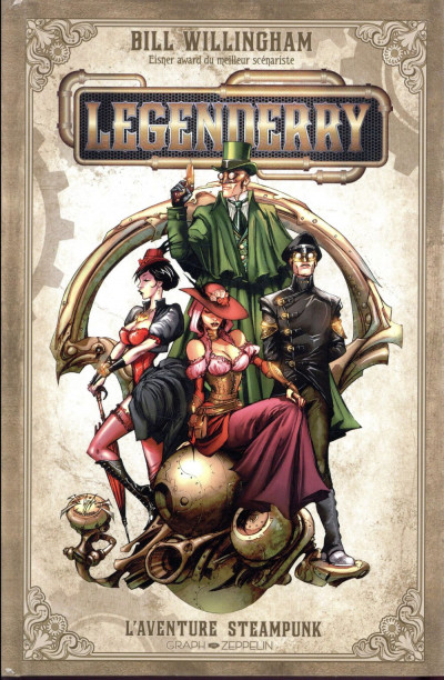 Couverture legenderry ; l'aventure steampunk