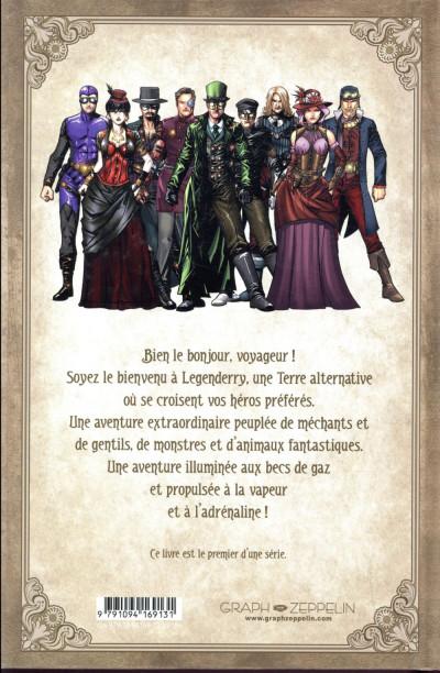 Dos legenderry ; l'aventure steampunk