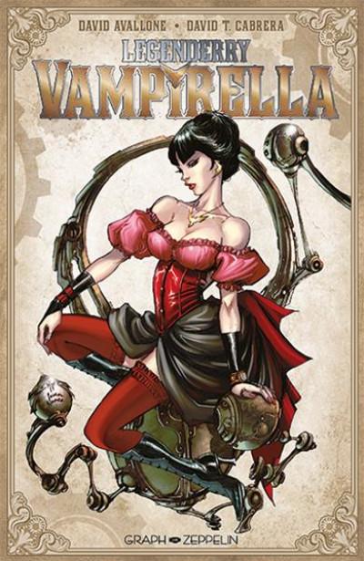 Couverture legenderry ; Vampirella
