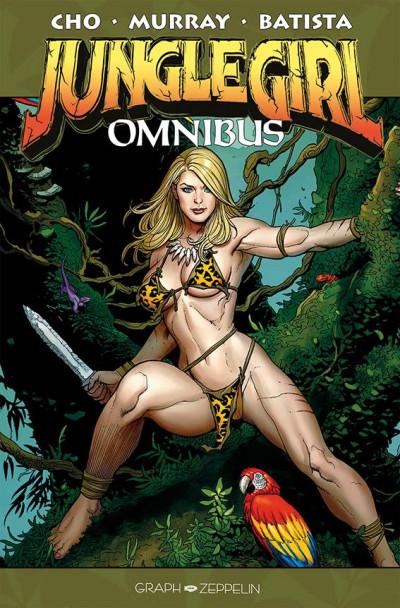 Couverture Jungle girl - Omnibus