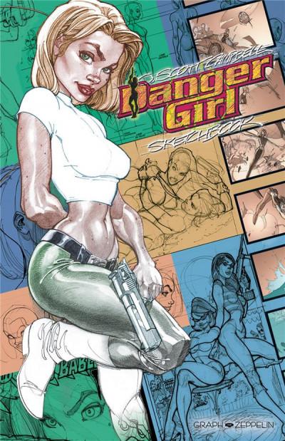 Couverture Danger girl - sketchbook