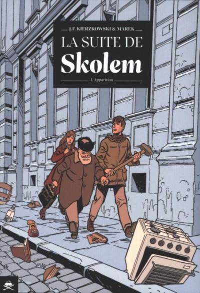 Couverture La suite de Skolem tome 1 - apparitions