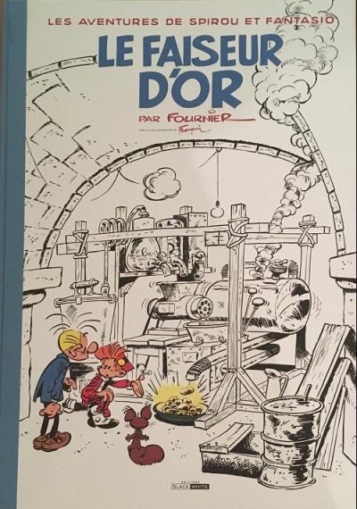 Couverture Spirou et Fantasio - tirage de tête tome 20 - Le faiseur d'or