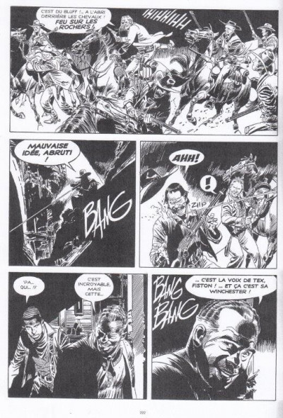 Page 1 Tex (Black & White) tome 1