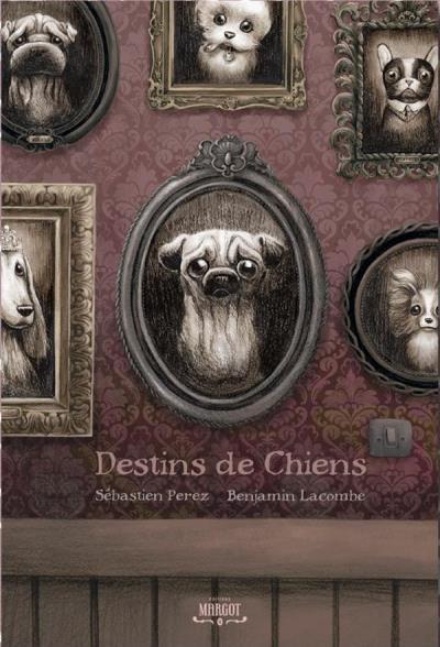 Couverture Destins de chiens