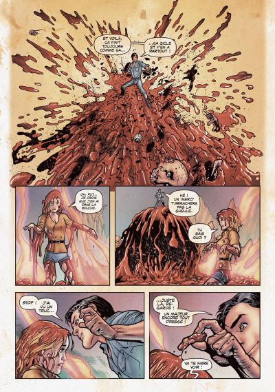 Page 2 Evil dead 2 tome 1
