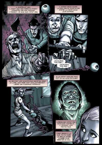 Page 4 Evil dead 2 tome 1