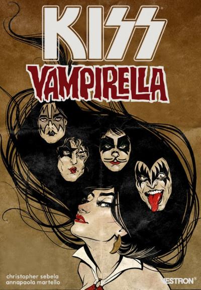 Couverture Kiss Vampirella