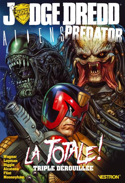 Couverture Judge dredd / Aliens / Predator - La totale