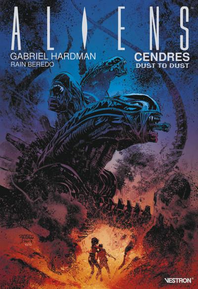 Couverture Aliens - Cendres