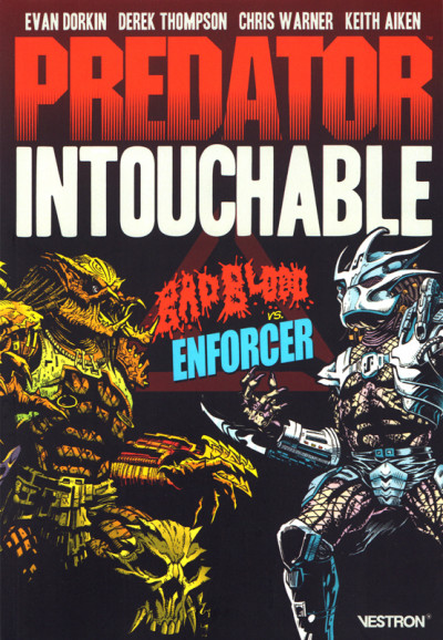 Couverture Predator - Intouchable