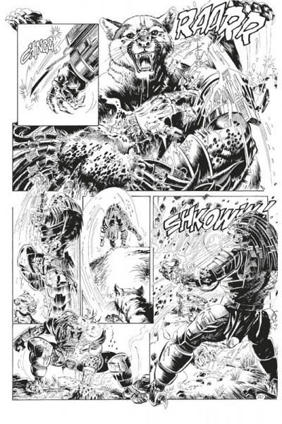 Page 4 Predator - La traque infernale