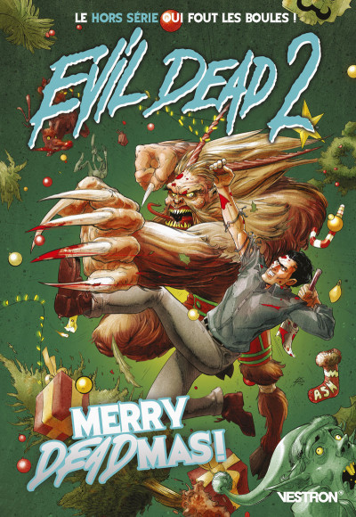 Couverture Evil dead 2 - Merry deadmas !