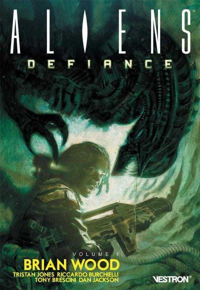 Couverture Aliens - defiance tome 1