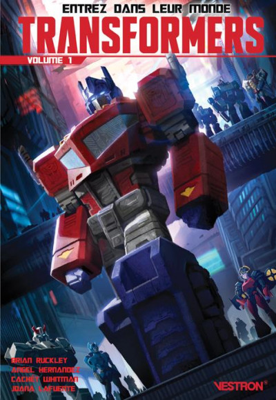 Couverture Transformers tome 1