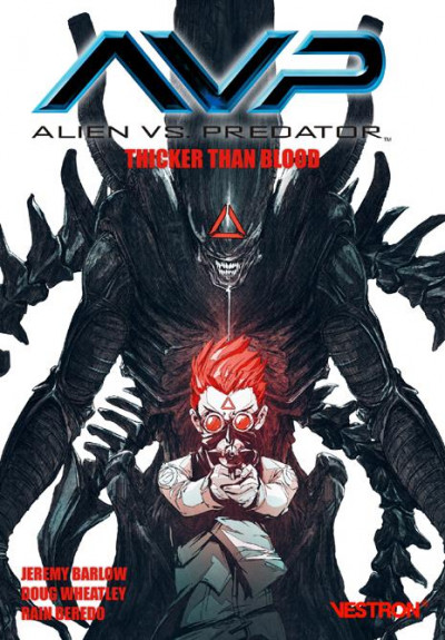 Couverture Alien vs. Predator ; thicker than blood