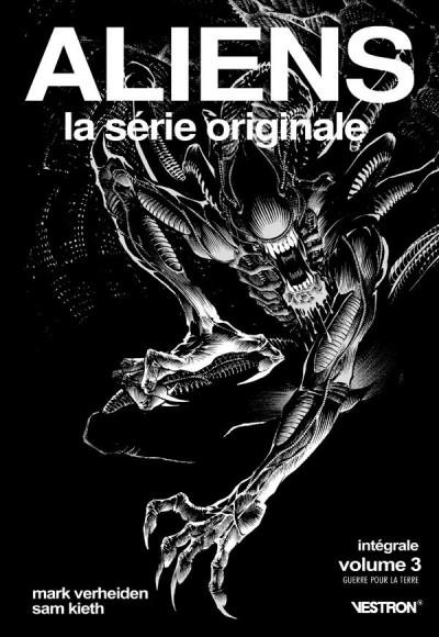 Couverture Aliens, la série originale - intégrale tome 3