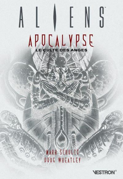 Couverture Aliens - Apocalypse - Le culte des anges