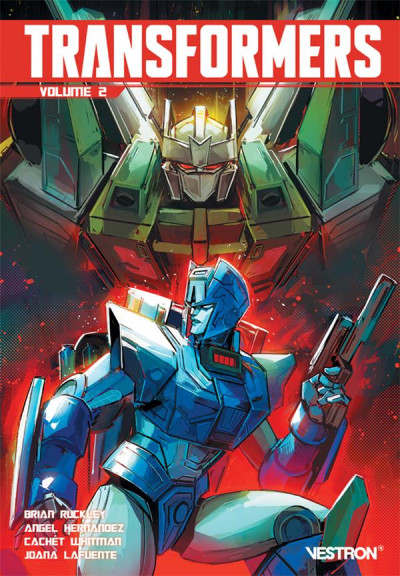 Couverture Transformers tome 2