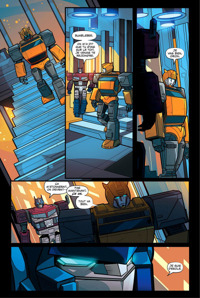 Page 7 Transformers tome 2