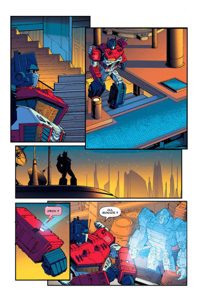 Page 8 Transformers tome 2