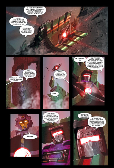 Page 0 Transformers - galaxies tome 1