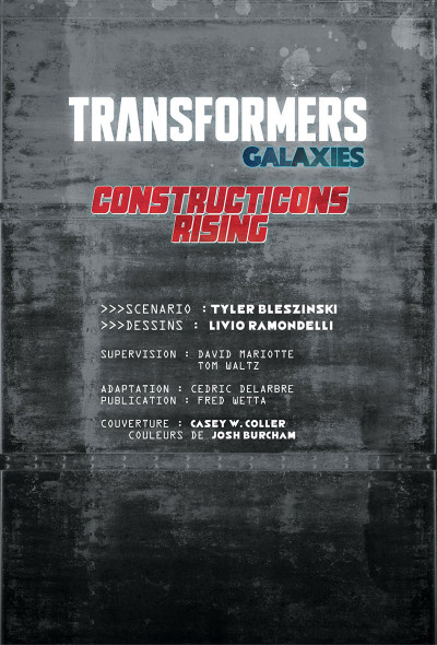 Page 2 Transformers - galaxies tome 1