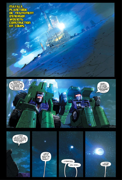 Page 3 Transformers - galaxies tome 1
