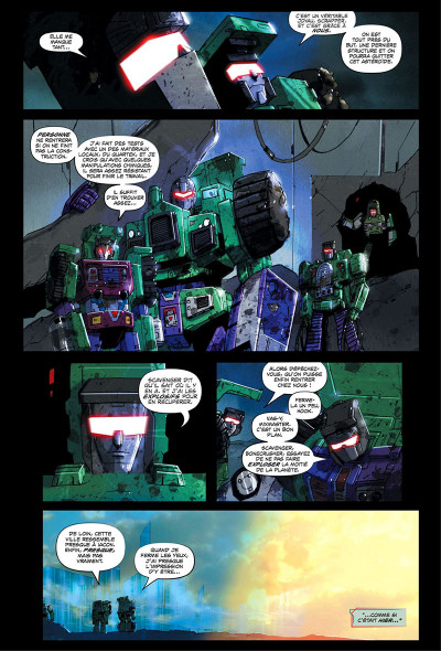 Page 4 Transformers - galaxies tome 1