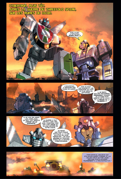 Page 5 Transformers - galaxies tome 1