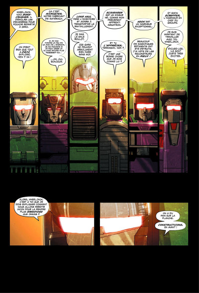 Page 6 Transformers - galaxies tome 1