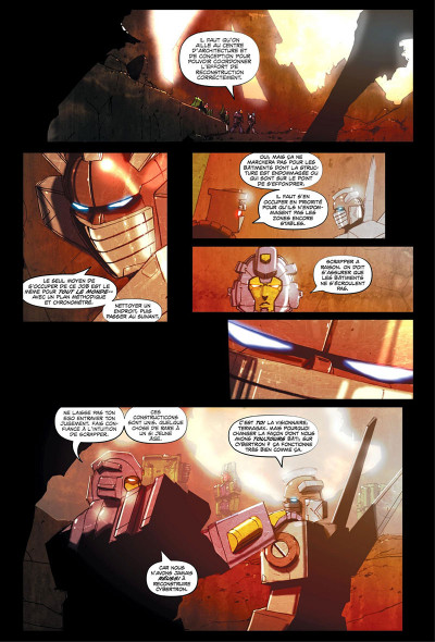 Page 7 Transformers - galaxies tome 1