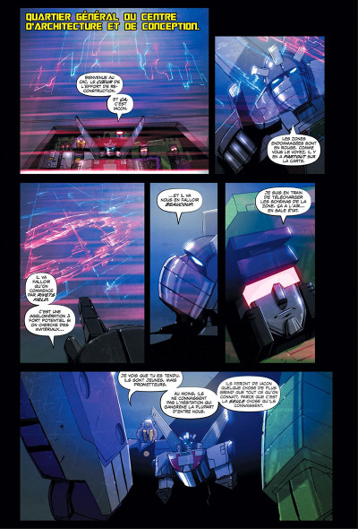 Page 8 Transformers - galaxies tome 1