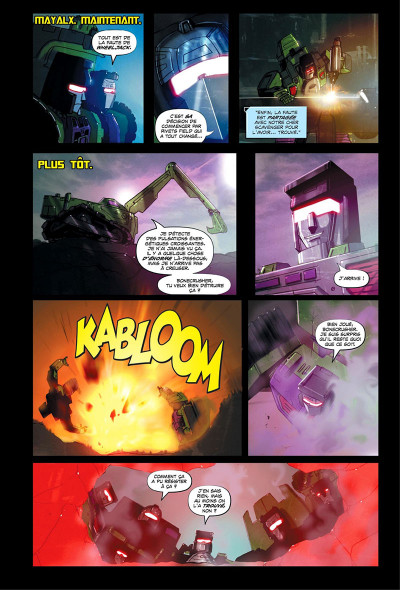 Page 9 Transformers - galaxies tome 1