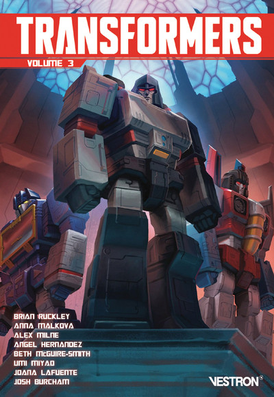 Couverture Transformers tome 3