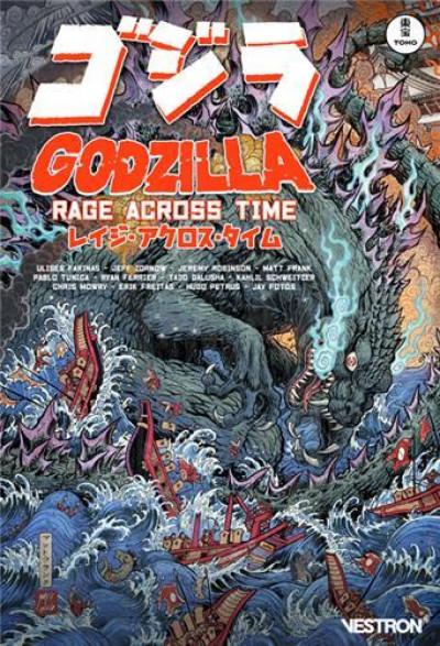 Couverture Godzilla à travers les âges