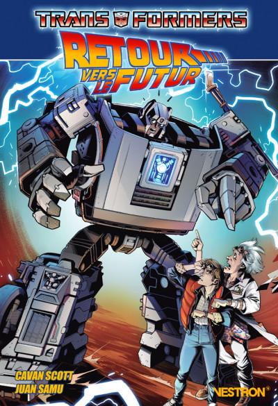 Couverture Transformers - Retour vers le futur