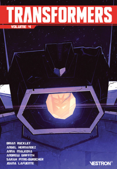 Couverture Transformers tome 4