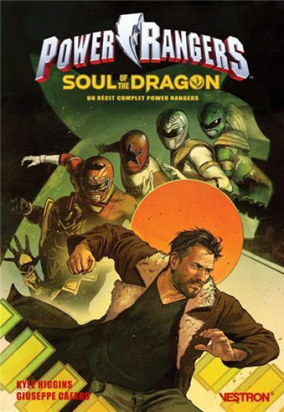 Couverture Power rangers - soul of the dragon